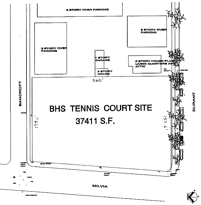 BHS Tennis Courts Site; click to enlarge